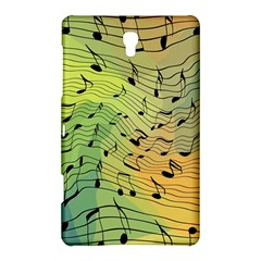 Music Notes Samsung Galaxy Tab S (8 4 ) Hardshell Case