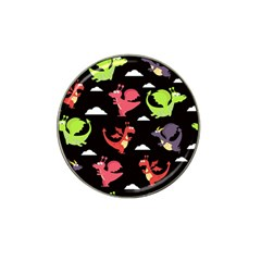 Cute Flying Dragons Hat Clip Ball Marker (4 Pack)