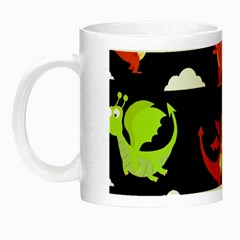 Cute Flying Dragons Night Luminous Mugs