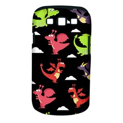 Cute Flying Dragons Samsung Galaxy S Iii Classic Hardshell Case (pc+silicone)