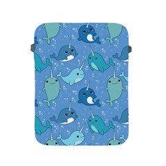 Cute Narwhal Pattern Apple Ipad 2/3/4 Protective Soft Cases
