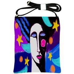 Night Abstract Art Shoulder Sling Bag Shoulder Sling Bags