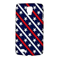 Patriotic Red White Blue Stars Galaxy S4 Active