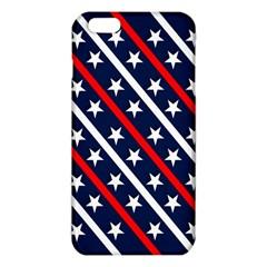Patriotic Red White Blue Stars Iphone 6 Plus/6s Plus Tpu Case