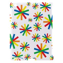 Celebrate Pattern Colorful Design Apple Ipad 3/4 Hardshell Case (compatible With Smart Cover)