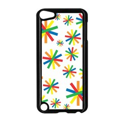 Celebrate Pattern Colorful Design Apple Ipod Touch 5 Case (black)