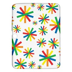 Celebrate Pattern Colorful Design Samsung Galaxy Tab 3 (10 1 ) P5200 Hardshell Case