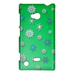 Snowflakes Winter Christmas Overlay Nokia Lumia 720