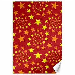Star Stars Pattern Design Canvas 20  X 30