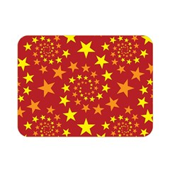 Star Stars Pattern Design Double Sided Flano Blanket (mini)