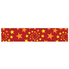 Star Stars Pattern Design Small Flano Scarf