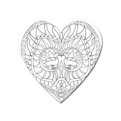 Heart Love Valentines Day Heart Magnet