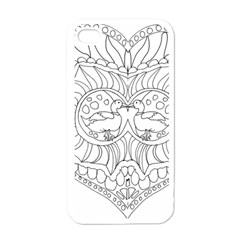 Heart Love Valentines Day Apple Iphone 4 Case (white)