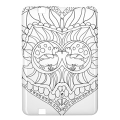 Heart Love Valentines Day Kindle Fire Hd 8 9