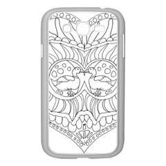 Heart Love Valentines Day Samsung Galaxy Grand Duos I9082 Case (white)