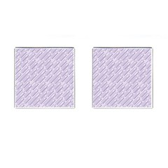 Halloween Lilac Paper Pattern Cufflinks (square)