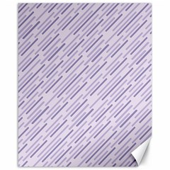 Halloween Lilac Paper Pattern Canvas 16  X 20