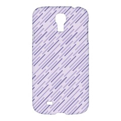 Halloween Lilac Paper Pattern Samsung Galaxy S4 I9500/i9505 Hardshell Case