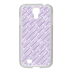 Halloween Lilac Paper Pattern Samsung Galaxy S4 I9500/ I9505 Case (white)