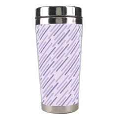 Halloween Lilac Paper Pattern Stainless Steel Travel Tumblers