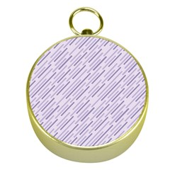 Halloween Lilac Paper Pattern Gold Compasses