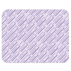 Halloween Lilac Paper Pattern Double Sided Flano Blanket (medium)