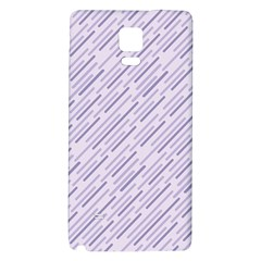 Halloween Lilac Paper Pattern Galaxy Note 4 Back Case