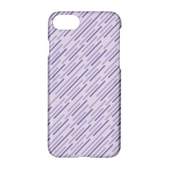 Halloween Lilac Paper Pattern Apple Iphone 8 Hardshell Case