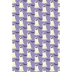Bat And Ghost Halloween Lilac Paper Pattern 5 5  X 8 5  Notebooks