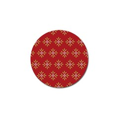Pattern Background Holiday Golf Ball Marker (10 Pack)