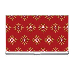 Pattern Background Holiday Business Card Holders