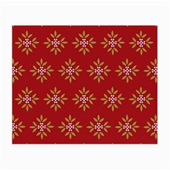 Pattern Background Holiday Small Glasses Cloth