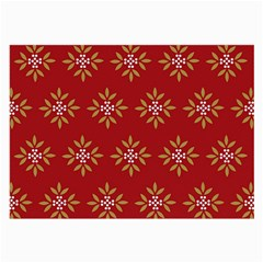 Pattern Background Holiday Large Glasses Cloth