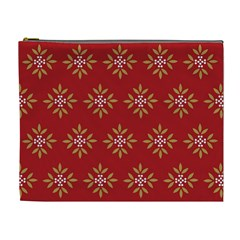 Pattern Background Holiday Cosmetic Bag (xl)