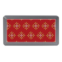 Pattern Background Holiday Memory Card Reader (mini)