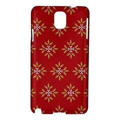 Pattern Background Holiday Samsung Galaxy Note 3 N9005 Hardshell Case
