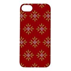 Pattern Background Holiday Apple Iphone 5s/ Se Hardshell Case