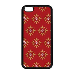 Pattern Background Holiday Apple Iphone 5c Seamless Case (black)