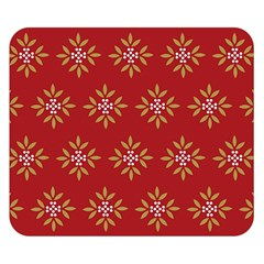 Pattern Background Holiday Double Sided Flano Blanket (small)