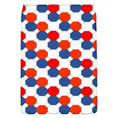 Geometric Design Red White Blue Flap Covers (l)
