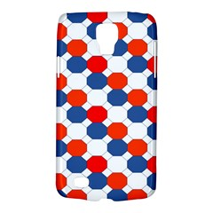 Geometric Design Red White Blue Galaxy S4 Active