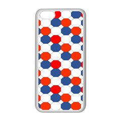 Geometric Design Red White Blue Apple Iphone 5c Seamless Case (white)