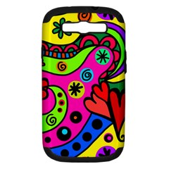 Seamless Tile Background Abstract Samsung Galaxy S Iii Hardshell Case (pc+silicone)