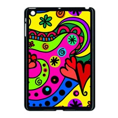 Seamless Tile Background Abstract Apple Ipad Mini Case (black)