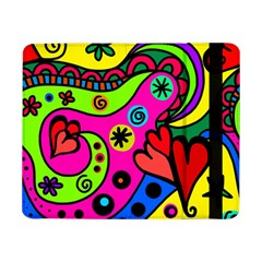 Seamless Tile Background Abstract Samsung Galaxy Tab Pro 8 4  Flip Case
