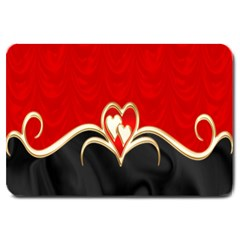 Red Black Background Wallpaper Bg Large Doormat