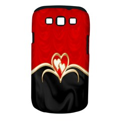 Red Black Background Wallpaper Bg Samsung Galaxy S Iii Classic Hardshell Case (pc+silicone)