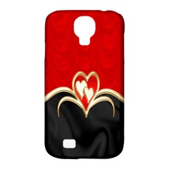 Red Black Background Wallpaper Bg Samsung Galaxy S4 Classic Hardshell Case (pc+silicone)