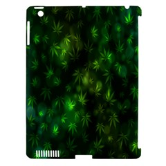 Bokeh Background Texture Marijuana Apple Ipad 3/4 Hardshell Case (compatible With Smart Cover)