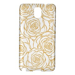 Yellow Peonies Samsung Galaxy Note 3 N9005 Hardshell Case